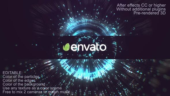 Videohive Crystall Particle Logo Reveal 28806397