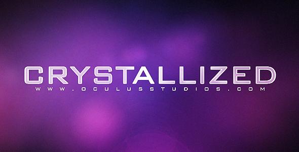 Videohive Crystallized CS4 Logo Reveal