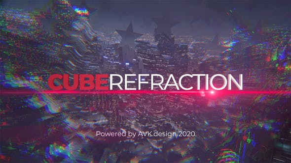 Videohive Cube Refraction 26830032
