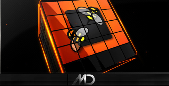 Videohive Cubes Logo Reveal Pack