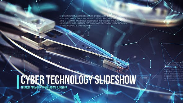 Videohive Cyber Technology Slideshow 21349251