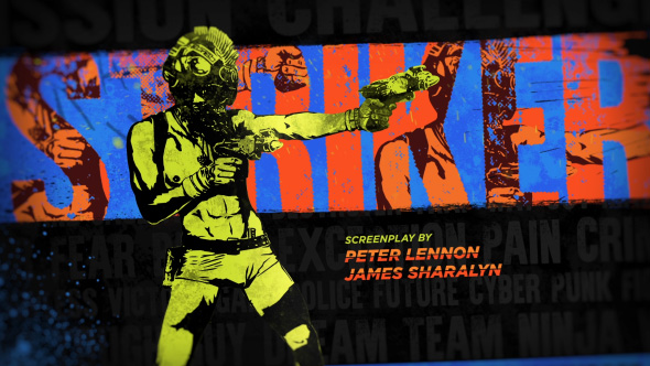 Videohive Cyberpunk Movie Titles 15821778