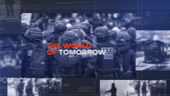 Videohive Daily News Intro 27435124