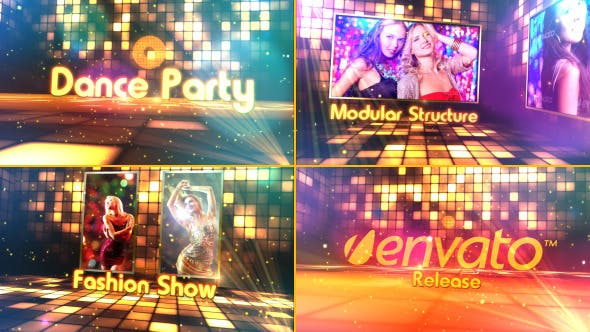 Videohive Dance Party 4136483