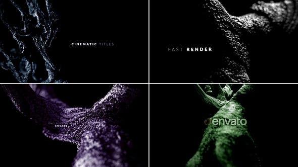 Videohive Dark Cinematic Titles 28522385