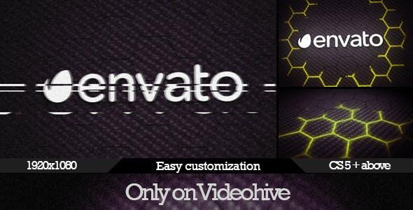 Videohive Dark Glitch Logo Reveal 8037668