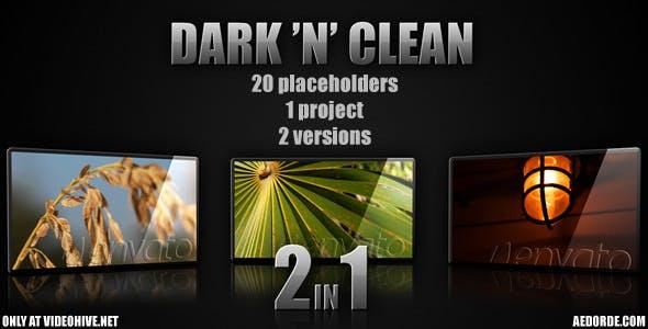Videohive Dark n Clean 151107