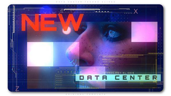 Videohive Data Center Techno Slides 22457639