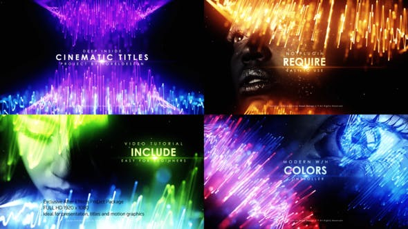Videohive Deep Inside Cinematic Titles 26988593
