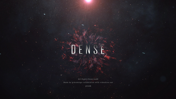Videohive Dense Trailer Titles 21781574