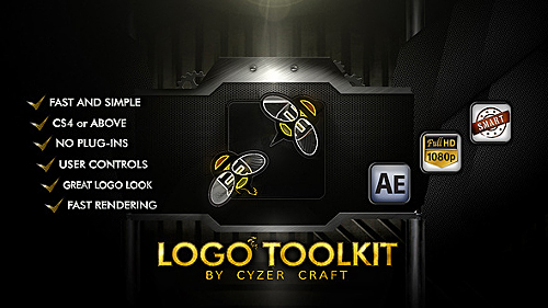 Videohive Descriptive Logo Toolkit - Hi-tech Packshot 5918968