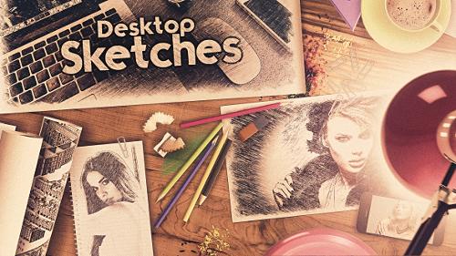 Videohive Desktop Sketches