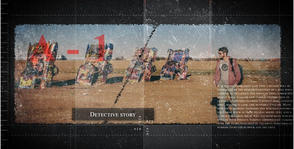 Videohive Detective story 16133868