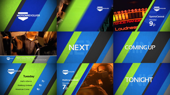 Videohive Diagonals Promo Package 5578887
