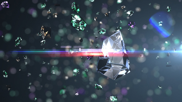Videohive Diamonds Explosion Logo Reveal 3817574