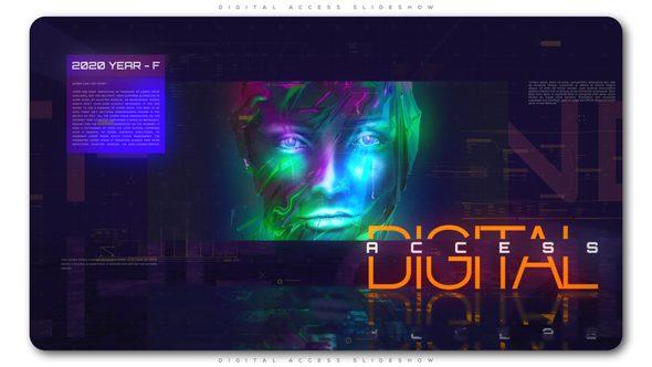 Videohive Digital Access Slideshow 21795619