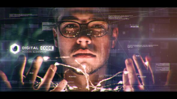 Videohive Digital Code Slideshow 20244718