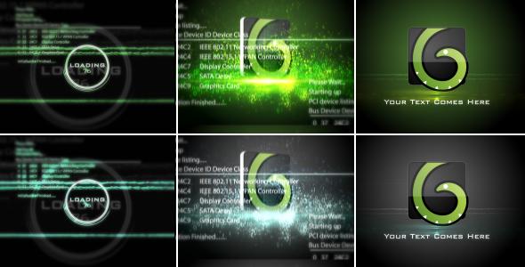 Videohive Digital Glitch Logo 19495090