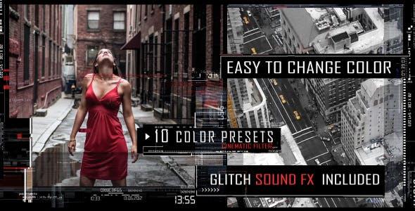 Videohive Digital Glitch Trailer 15918157
