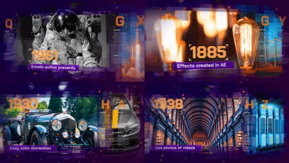 Videohive Digital History 22728030