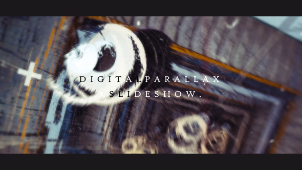 Videohive Digital Parallax Slideshow Opener 19679775