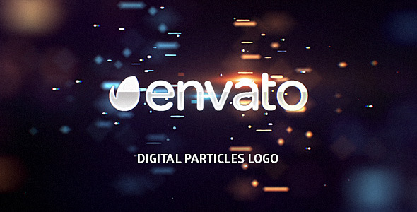 Videohive Digital Particles Logo 10299498