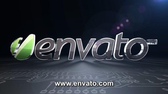 Videohive Digital Technology Logo Reveal 4307573