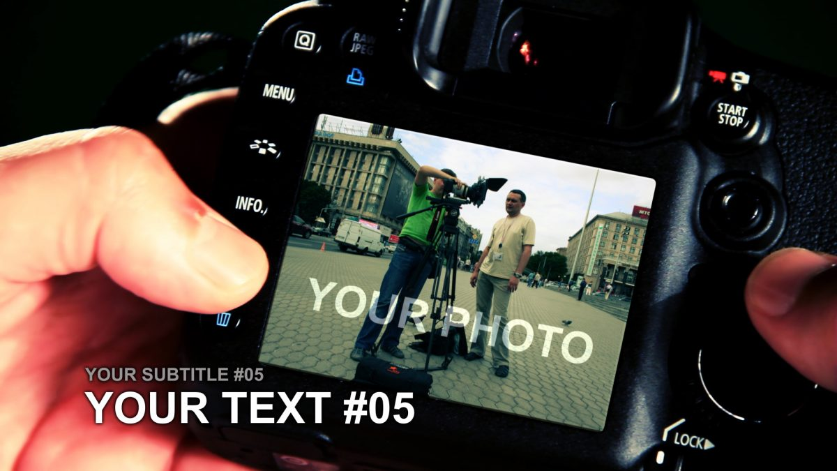 Videohive DigitalPhotographer