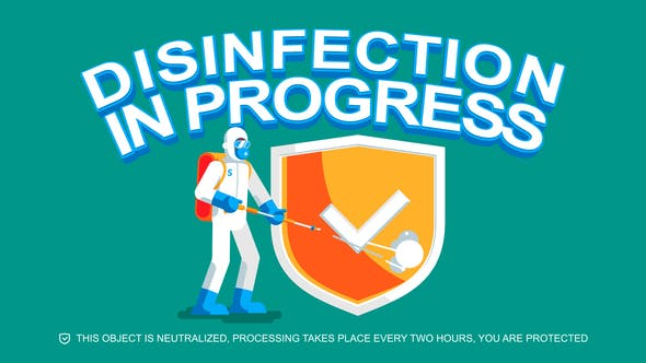 Videohive Disinfection 27031281