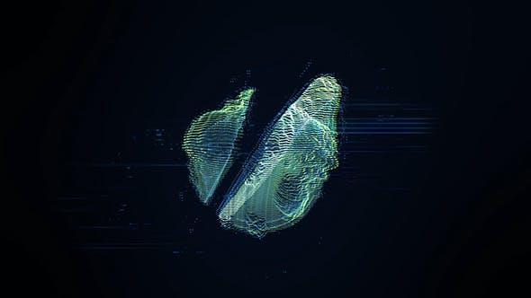 Videohive Distortion Logo 4034956