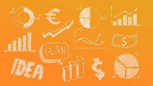 Videohive Doodle Business Elements 19503756
