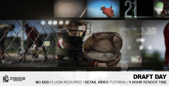 Videohive Draft Day 10652298