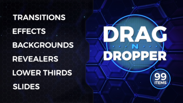Videohive Drag-n-Dropper Motion Pack 20260591