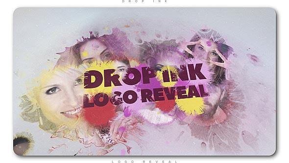 Videohive Drop Ink Logo Reveal 20741198