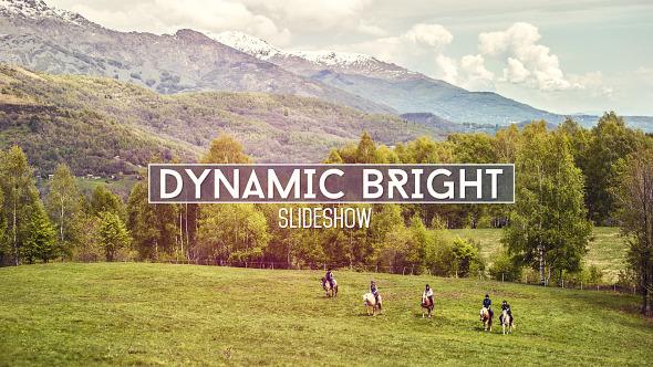 Videohive Dynamic Bright Slideshow 12619355