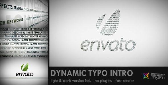 Videohive Dynamic Keywords Intro 2207350