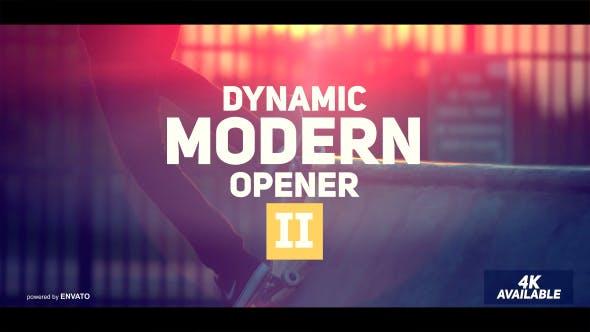 Videohive Dynamic Modern Opener II 19553339