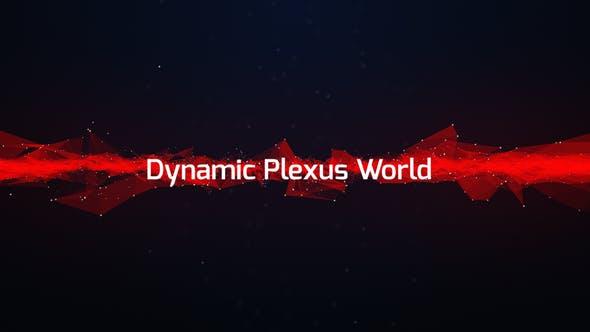 Videohive Dynamic Plexus World 12523473