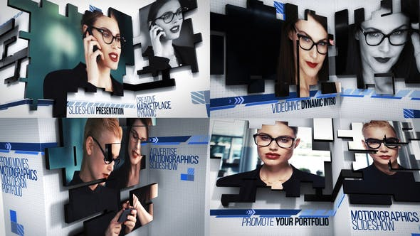 Videohive Dynamic Video Wall 21876313