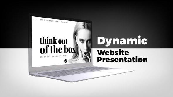 Videohive Dynamic Website Presentation 21494247