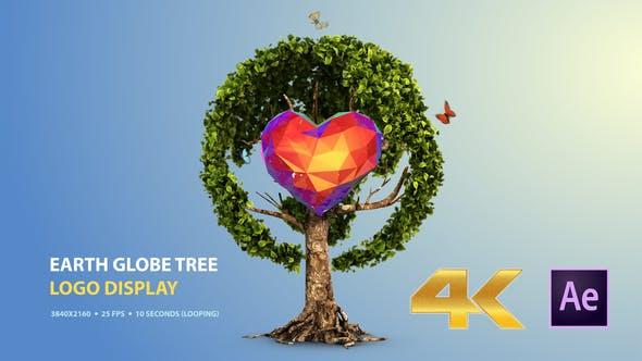 Videohive Earth Globe Tree (Logo Display) 25862898