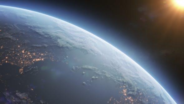 Videohive Earth Horizon 6507130