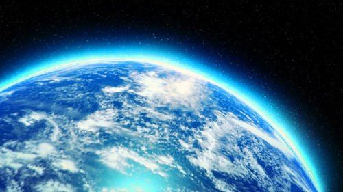 Videohive Earth Zoom Logo