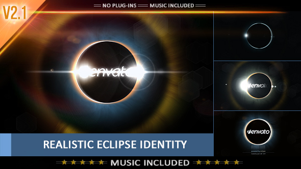 Videohive Eclipse Identity - Cinematic Studios Logo 3940026