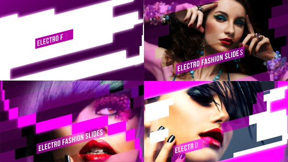 Videohive Electro Fashion Slides - Image Video 6173932