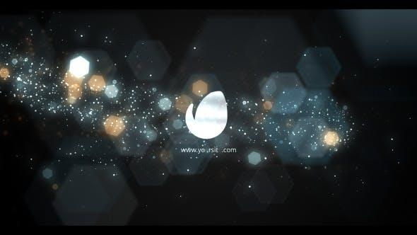 Videohive Elegant Bokeh Particle Logo 11893519