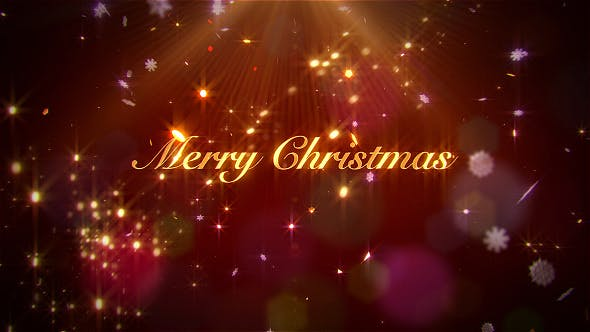 Videohive Elegant Christmas Wishes 18997313