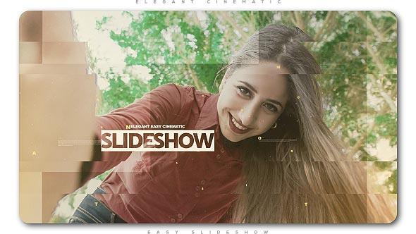 Videohive Elegant Easy Cinematic Slideshow 21142043