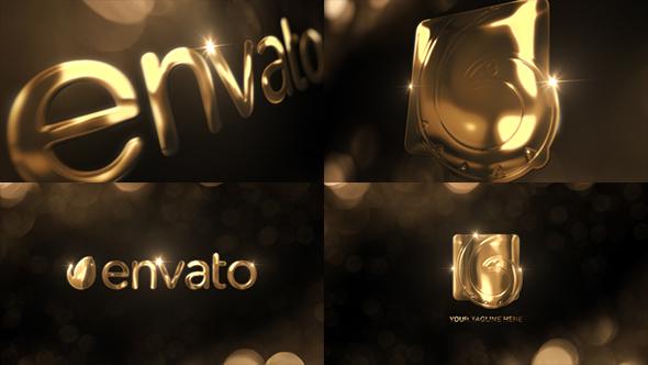 Videohive Elegant Gold Logo Reveal 20274553