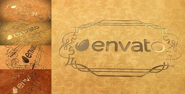 Videohive Elegant Leather Logo 10419868
